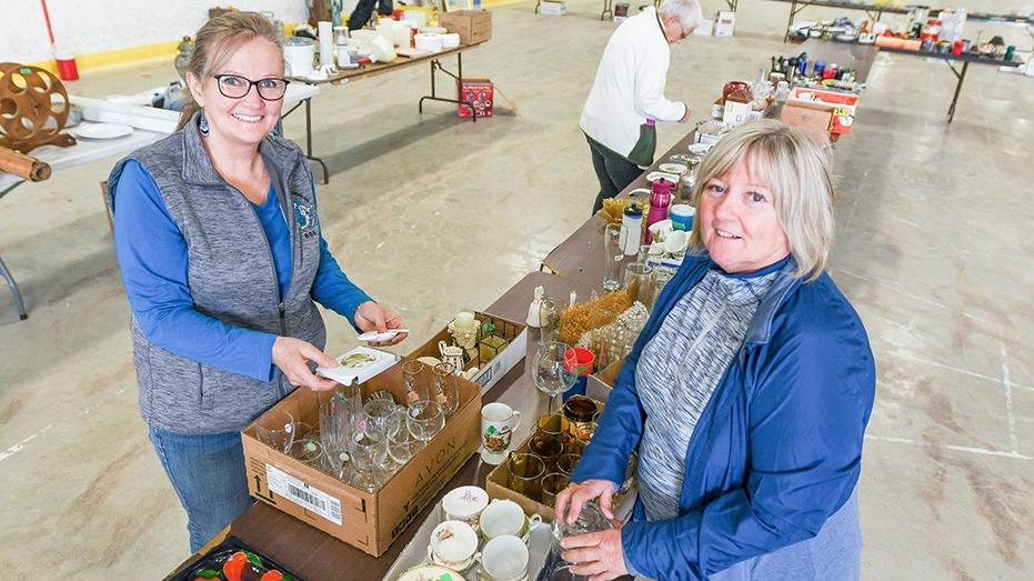 ROK/Sunset share garage sale cash