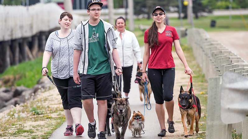 Fundraiser for Guide Dog program unleashed at Lions' den