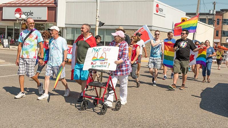 Portage Pride takes to the street