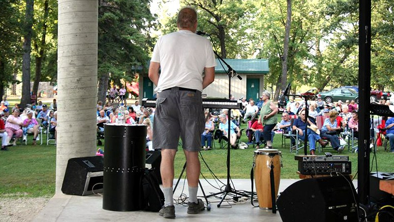 Two one-man acts featured for Concerts in the Park Aug. 16