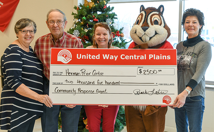 United Way helps Herman Prior Activity Centre with Community Response Grant