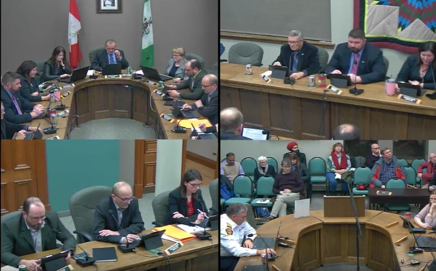 City of Portage la Prairie council meeting Jan. 14, 2019