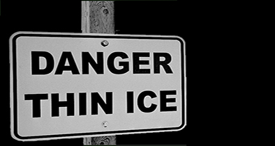 Unsafe conditions spur ice advisory