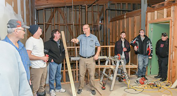 Tool shed concept embraced at Herman Prior open house