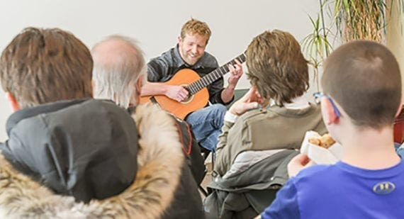 Library to host last Coffee House of season on Saturday
