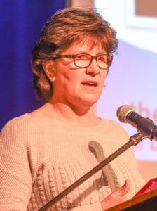 Sportsperson of the Year Carol Stewart