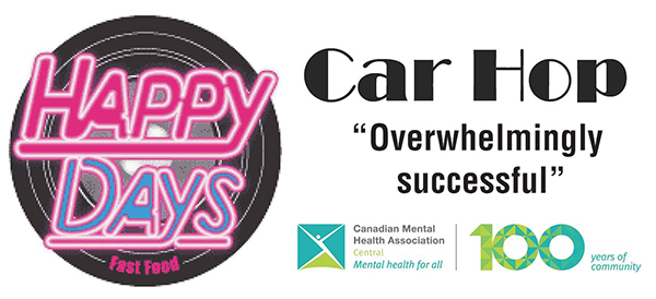 Canadian Mental Health Association Central earns Happy Days cash