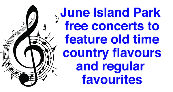 Island Park will host more free concerts this year
