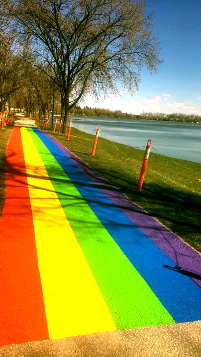 Portage Pride parade