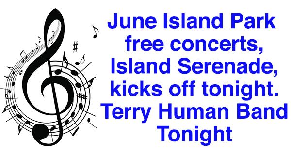 Island Serenade June 6