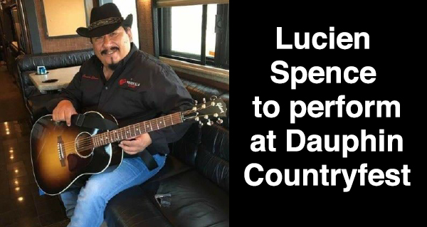 Lucien Spence Countryfest Competition Series winner