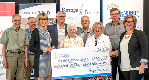 Assisted Living project receives $250,000 grant