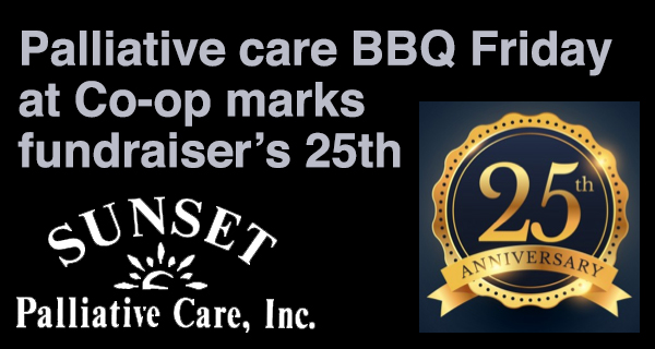 Sunset Palliative Care Community barbecue on Friday