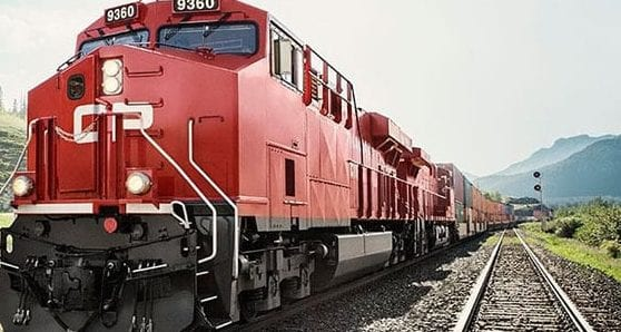 Record quarterly revenue for Canadian Pacific Railway