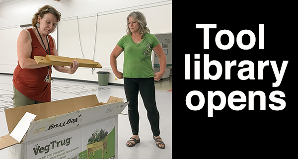 Tool Library opens door at Herman Prior