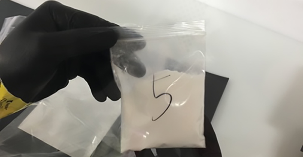Fentanyl seizure results in 8-year sentence