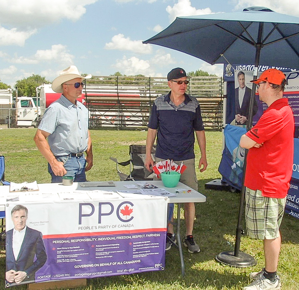 PPC at 2019 Carman fair