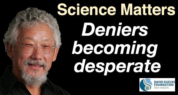 Deniers deflated as climate reality hits home