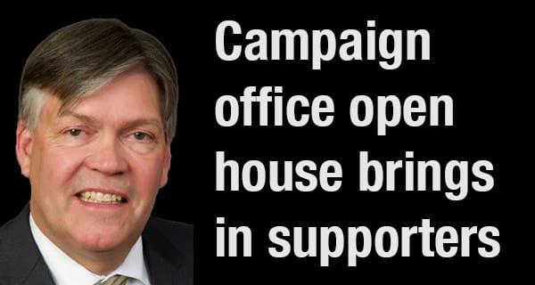 Incumbent hosts open house