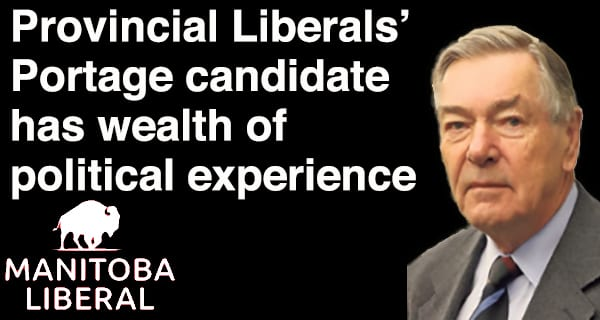 Manitoba Liberals nominate Charles Huband for Portage la Prairie