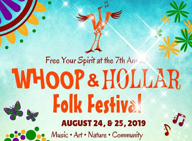 Whoop and Hollar 2019 poster