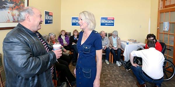 Bergen opens Portage la Prairie campaign office