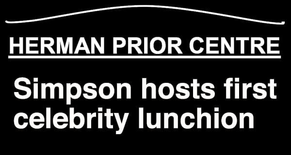 1st Herman Prior Activity Centre Celebrity Luncheon a hit