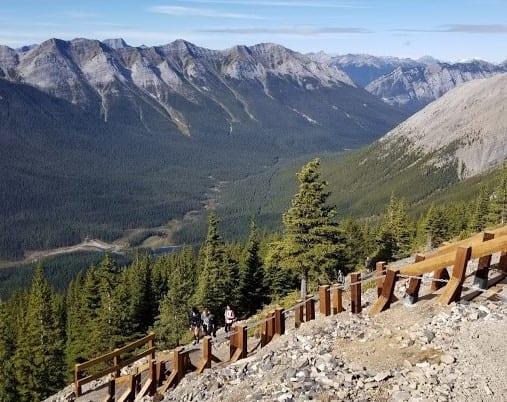 Stairway to Ha Ling Peak - Doug Firby Canmore Alberta