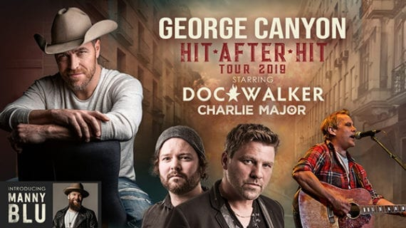 George Canyon/Doc Walker sell out a high-energy performance