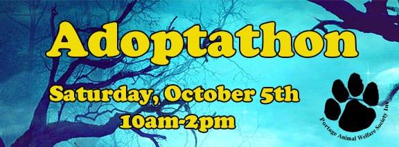 Portage Animal Welfare Society monthly Adoptathon