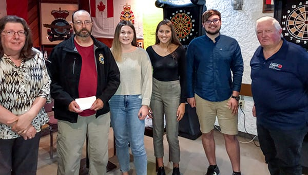 Portage Legion awards bursaries