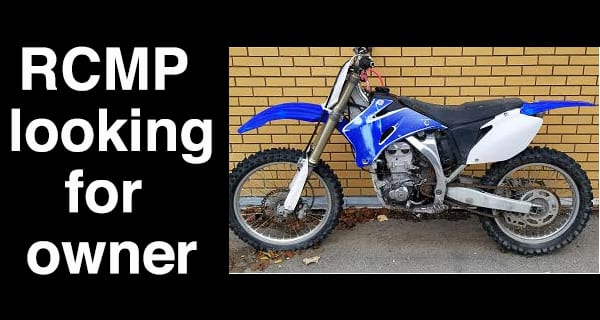 Portage la Prairie RCMP in search of motorcycle owner