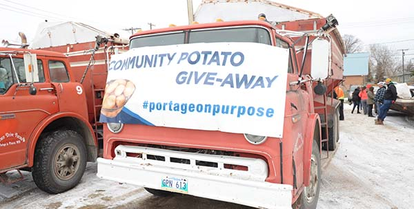 50,000 lbs. of spuds offered up in annual Community Potato Give-Away