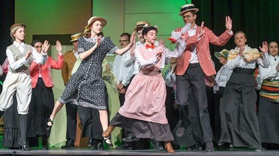 Mary Poppins drops in tonight