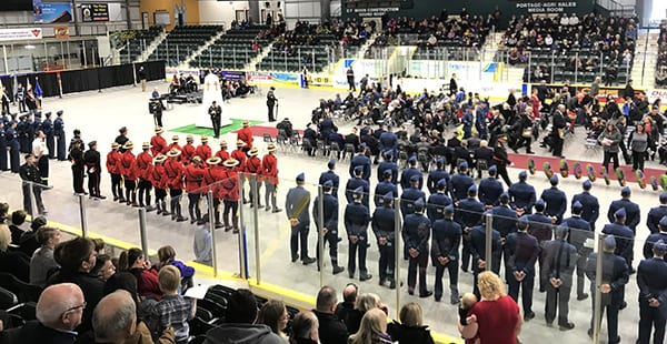 Peace keepers honoured at Stride Place Remembrance Day ceremony