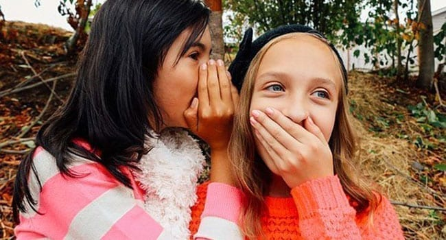 Did you hear about … how damaging gossip can be