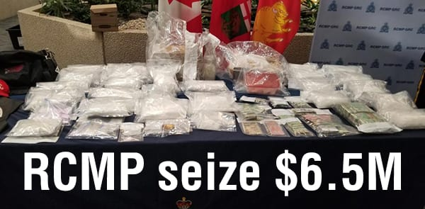 Manitoba RCMP release details relating to record drug bust