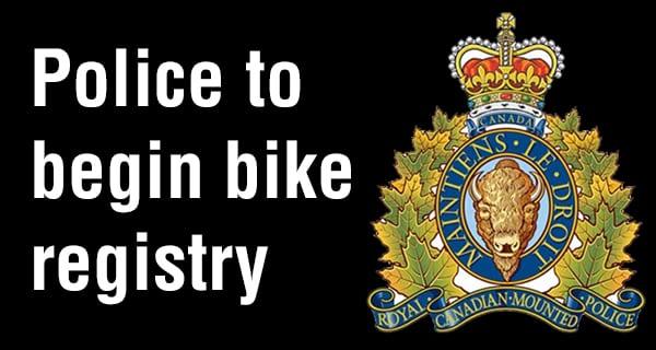 Portage la Prairie RCMP roll out bicycle registry