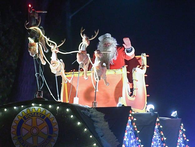 Santa Parade of Lights