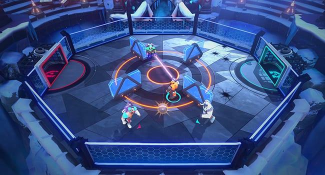 hyper brawl tournament video game apple arcade