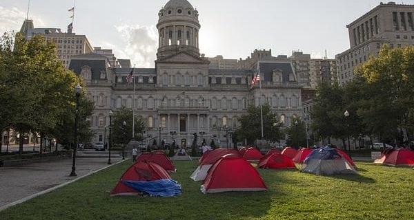 Tent cities aren't the problem, just a symptom