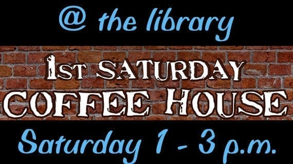 Acoustic open mic Saturday at library