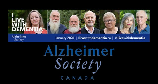 "Canadians living with dementia break silence on stigma in Alzheimer Society campaign: ""I live with dementia. Let me help you understand."""