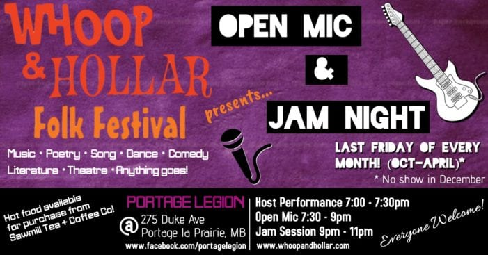 Open Mic & Jam to feature The Hairy Prairies