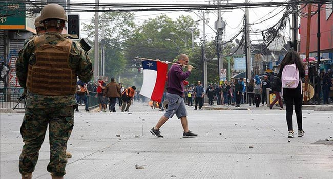 Chile is no longer a beacon of stability