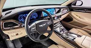 2017 G90 interior