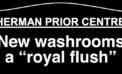 Washroom renovations completed