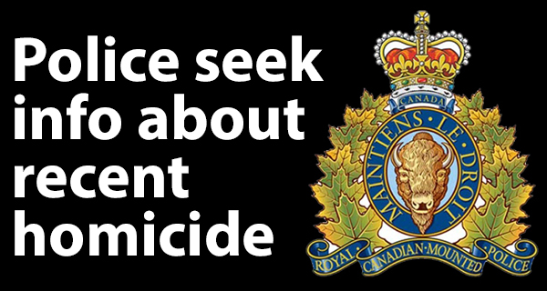 Portage la Prairie RCMP requesting public assistance in identifying homicide victim