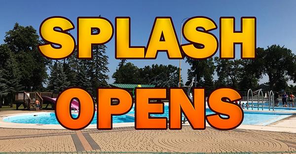 Splash Island opens today