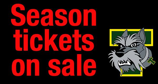 Terrier season tickets now on sale